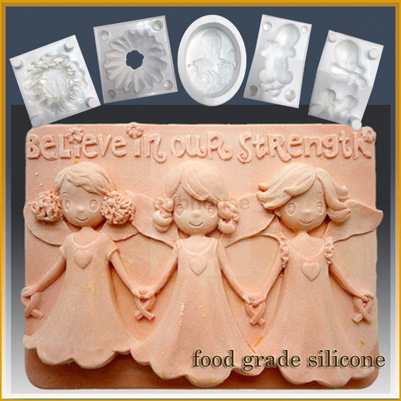 Believe in our Strength - Detail of high relief sculpture - Food grade