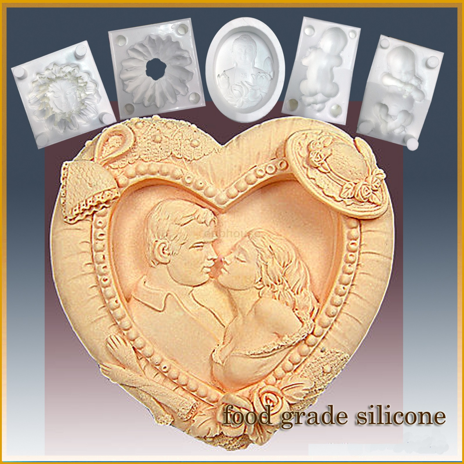 Southern Romance  - Detail of high relief sculpture - Food grade