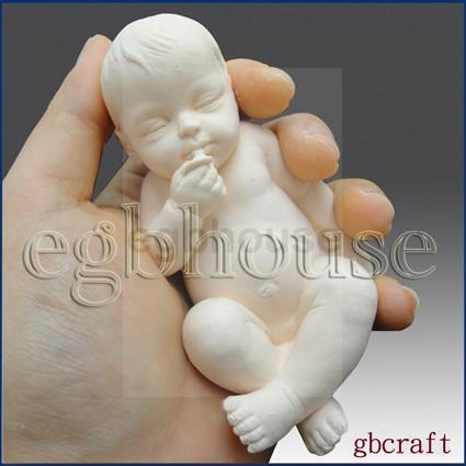 Lifelike Baby Gino (2 parts assembled)