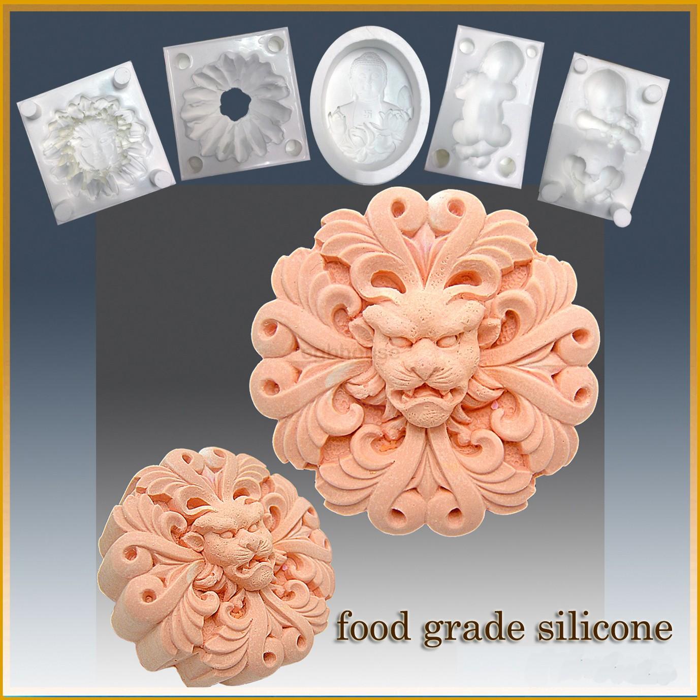 Horned Lion - Detail of high relief sculpture - Food grade