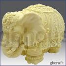 Festive Elephant - 3D
