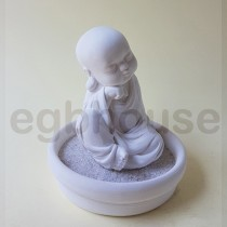 Mindful Mini Monk Statue MK01 small tray kit