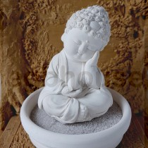 Mindful Mini Buddha Statue PD07 small tray kit