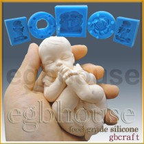 FDA -3D Baby Sucking on its Toes(2 parts assembled)