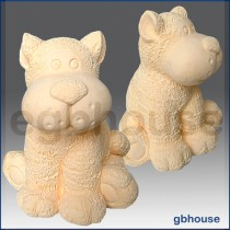 Toy Tiger - 3D Soap and Candle Mold