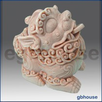 Asian Classic Lion - 3D Soap and Candle Mold