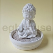 Mindful Mini Buddha Statue PD09 small tray kit