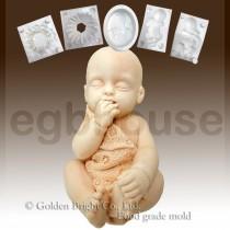FDA -3D Baby sucking fingers(2 parts assembled)