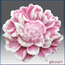 Charming Peony(2 parts assembled mold)