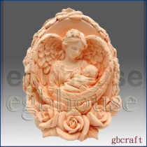 Mother Angel's Loving Wings - 3D Soap and Candle Mold