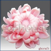 Fancy Chrysanthemum - 3D Glycerine Soap Mold