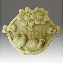 Happy Hedgehog- Detail of high relief sculpture