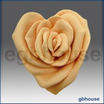 Rose Heart  - 3D Soap and Candle Mold