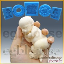 FDA -3D Lifelike Baby Aiden(2 parts assembled)