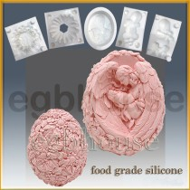 Mother Angel with Infant- 3D food grade