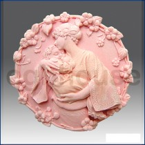 Mother Hugs Child to her Heart  - Detail of high relief sculpture