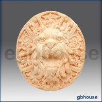 Roaring Lion Rosette - Detail of high relief sculpture