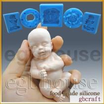 FDA -3D Lifelike Sleeping Baby(2 parts assembled)