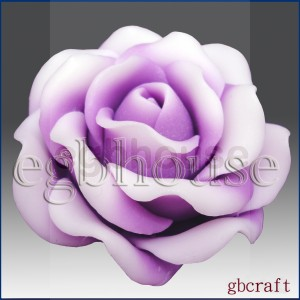 Lovely Rose - 3D Soap and Candle Mold