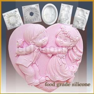Wedding Flower Fun - Detail of high relief sculpture - Food grade